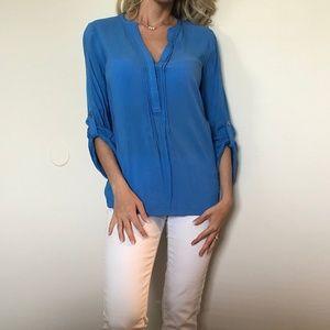 Lily Pulitzer Blue Blouse